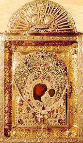 Казанская икона Божией Матери (храм Ярославских Чудотворцев города Казани)
