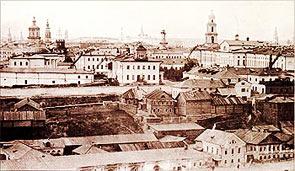 Панорама дореволюционной Казани